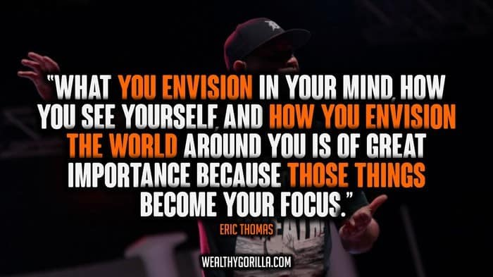 Eric Thomas Quotes Delectable 30 Motivational Eric Thomas Quotes  Wealthy Gorilla