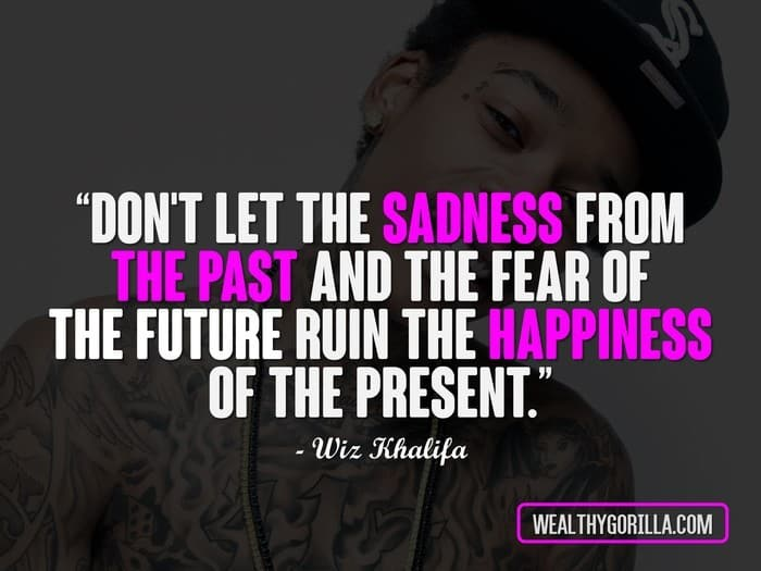 60 Great Hip Hop Quotes About Happiness In Life Wealthy Gorilla New Rap Quotes About Life
