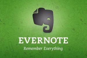 Evernote: Khởi động hầu như không thành công