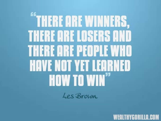 Les Brown Success Quote