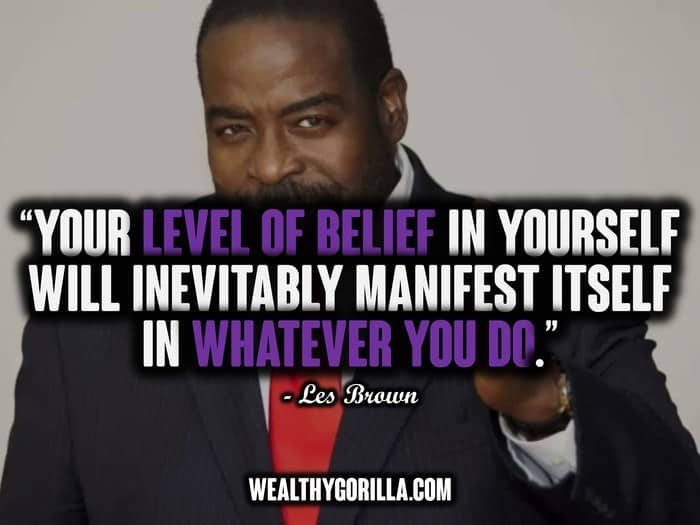 Les Brown Quotes 37 Motivational Les Brown Quotes On Living Your Dreams  Wealthy .