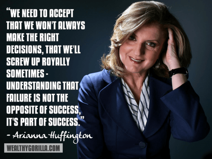 Arianna Huffington Inspirational Quote