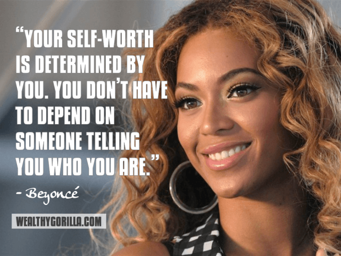 Beyonce Inspirational Quote