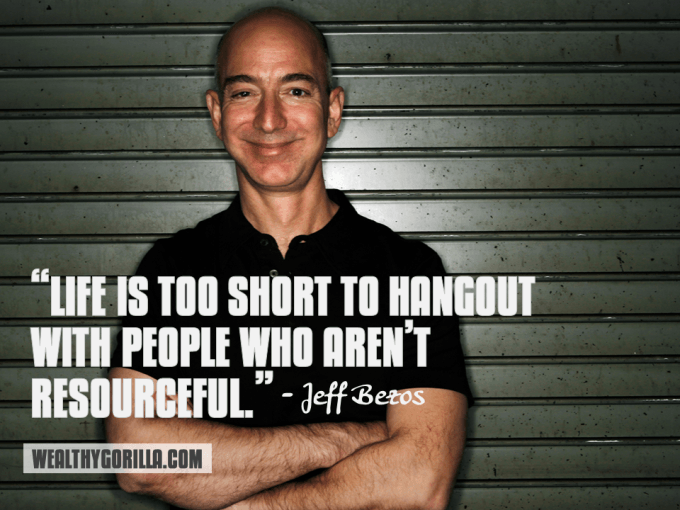 Jeff Bezos Inspirational Quote