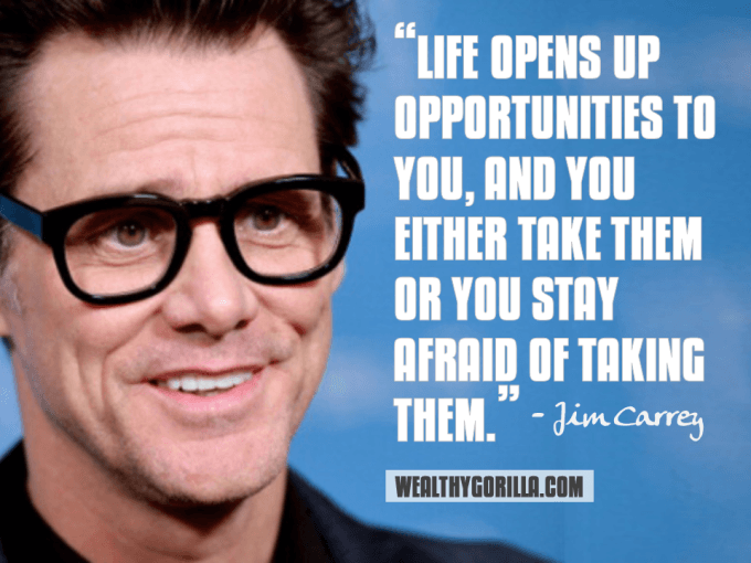 Jim Carrey Inspirational Quote