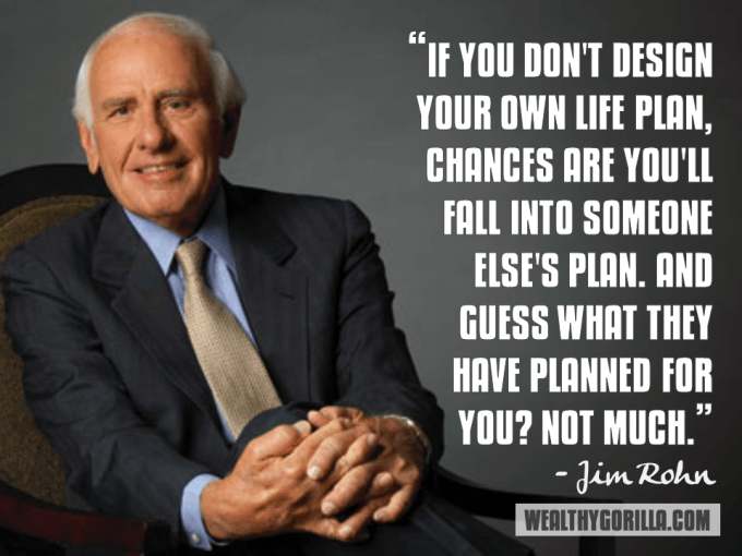 Jim Rohn Inspirational Quote
