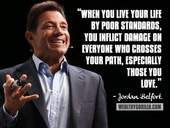 Jordan Belfort Inspirational Quote