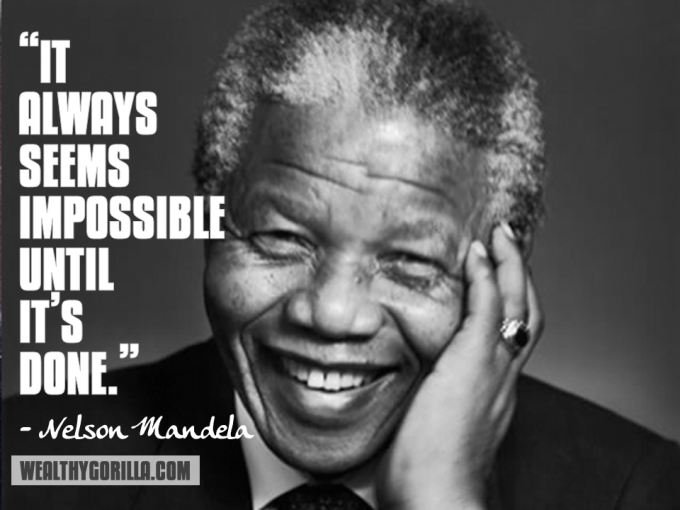 Nelson Mandela Inspirational Quote