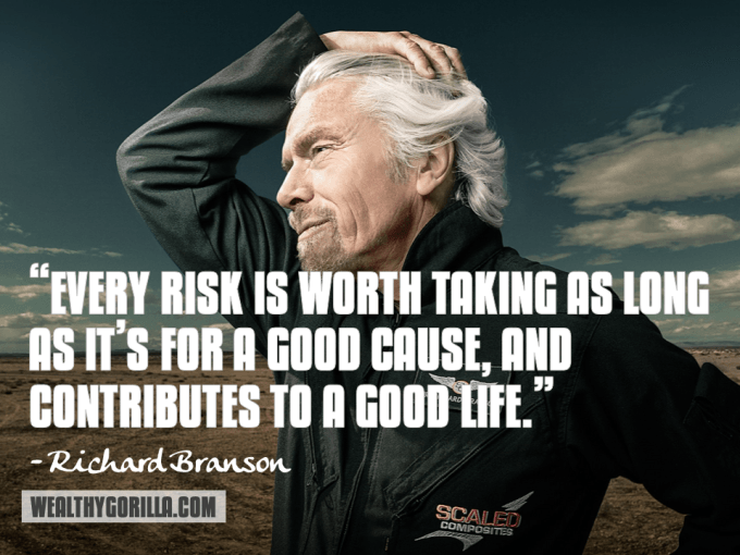 Richard Branson Inspirational Quote