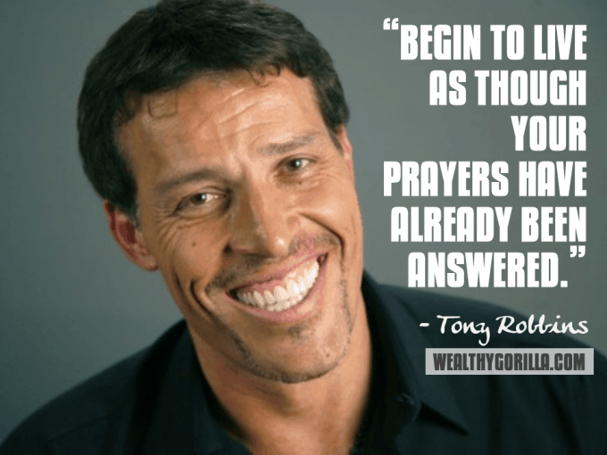 Tony Robbins Inspirational Quote