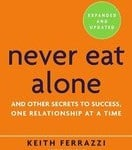 Never Eat Alone by Keith Ferrazzi Business Book