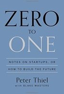 Zero to One by Peter Theil Business Book