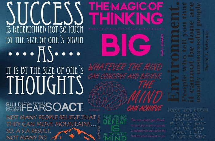 Lessons Learned from The Magic of Thinking Big