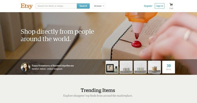 creating an online store with etsy