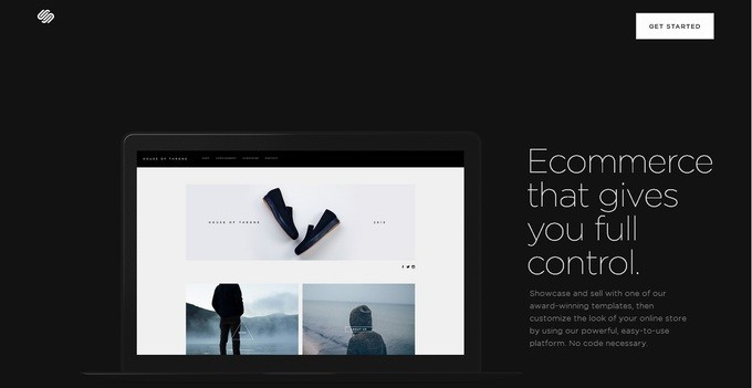 creating an online store with squarespace