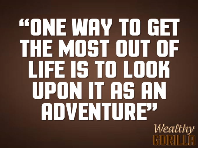 Adventure Quote About Life
