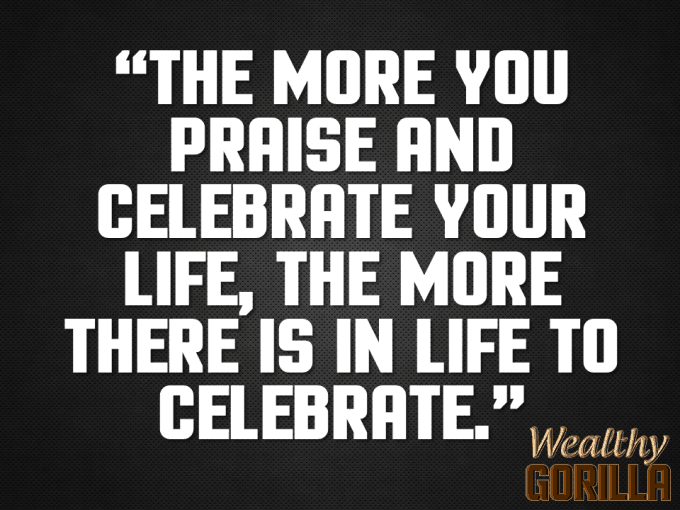 Celebrate Quote About Life