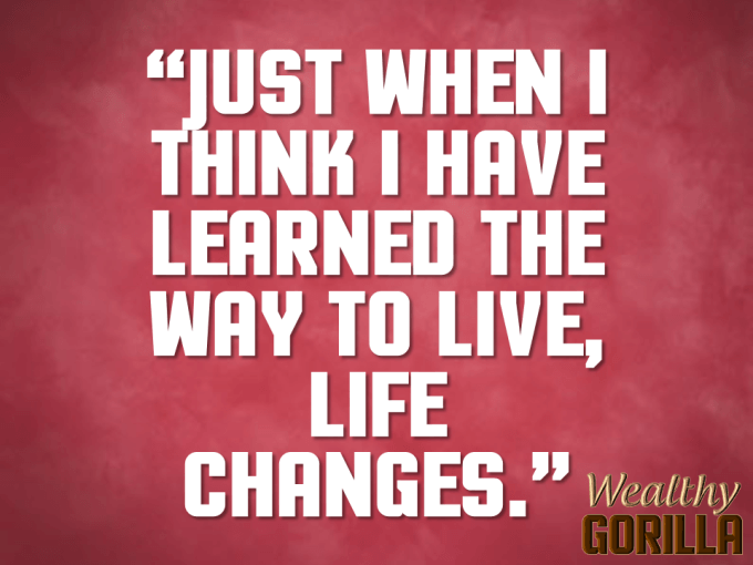 Change Quote About Life