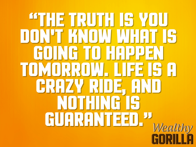 Crazy Ride Quote About Life