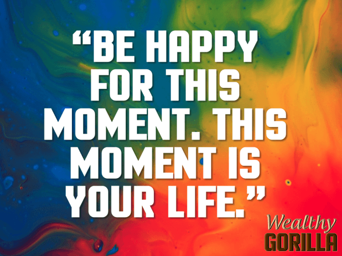 Happy Moment Quote About Life
