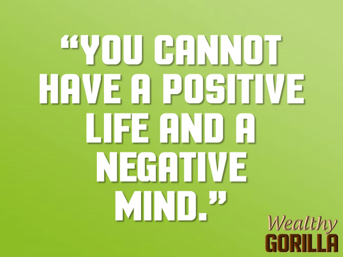 Negative Mind Quote About Life