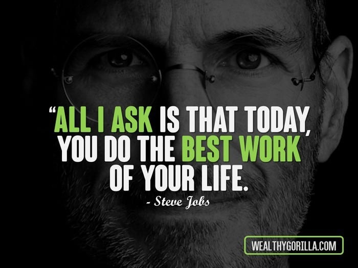 24 Inspirational Steve Jobs Quotes to Learn From  Wealthy Gorilla