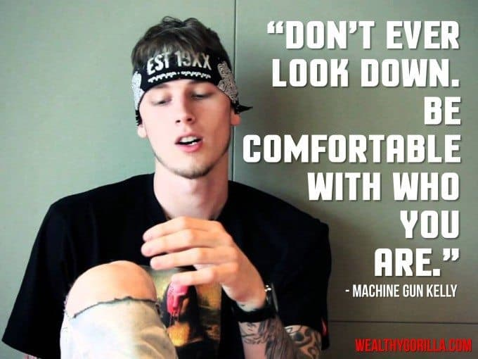 Machine Gun Kelly MGK Picture Quote