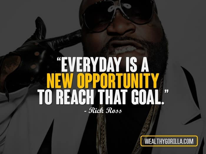 11 Unexpected Rick Ross Quotes About Life | Wealthy Gorilla