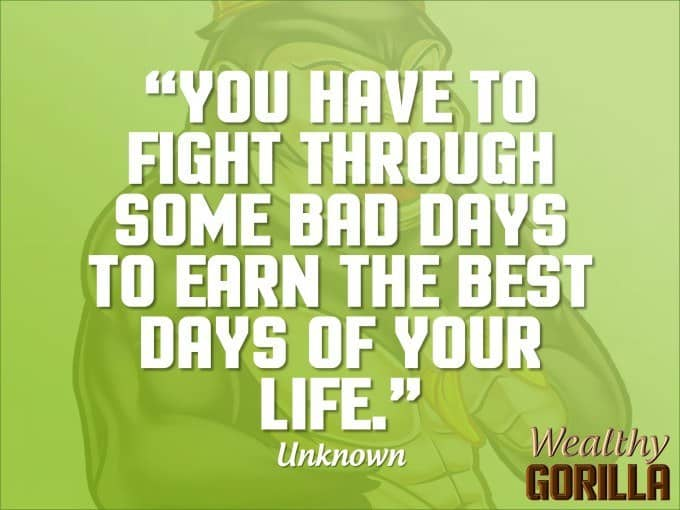 Life Quotes By Authors Captivating 30 Motivational Picture Quotesunknown Authors  Wealthy Gorilla