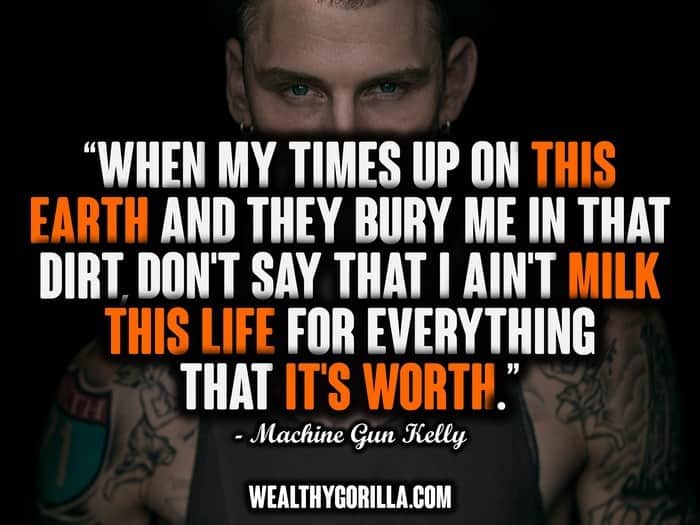 30 Awesome Machine Gun Kelly MGK Quotes 2019