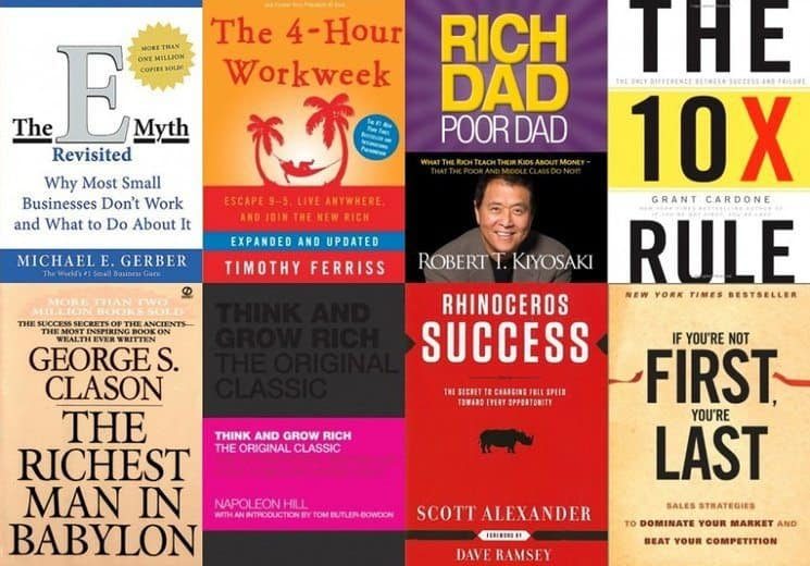 4 Must Read Books to Motivate Your Entrepreneurial Spirit