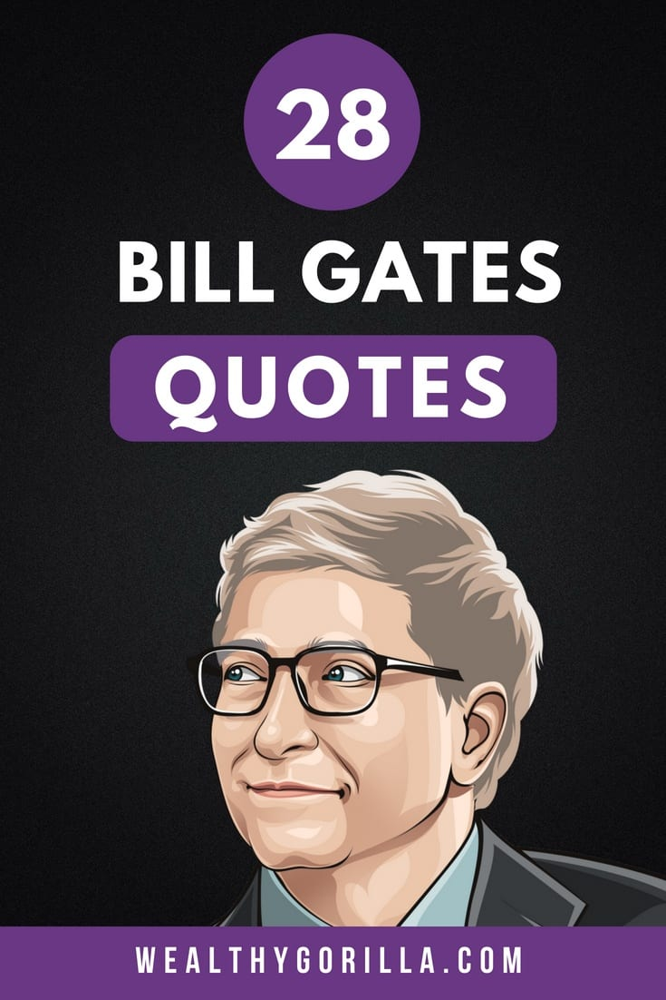 28 Bill Gates Quotes Pin 4