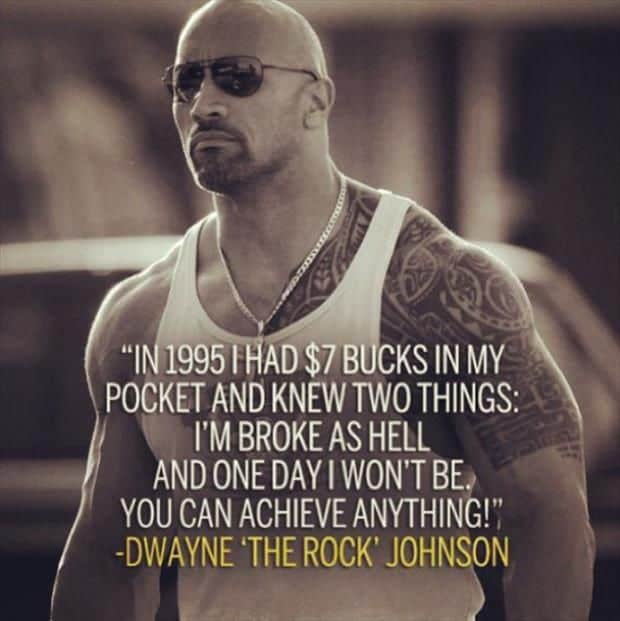 Motivational And Inspirational Picture Quotes: 40 Motivational Dwayne Johnson Quotes (The Rock)