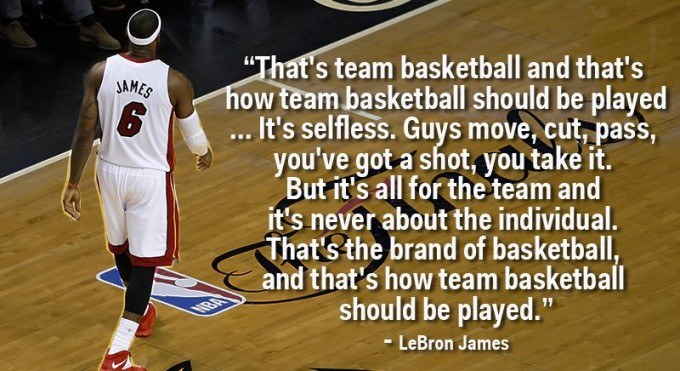 LeBron James Inspirational Picture Quote