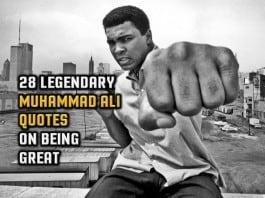 28 Legendary Muhammad Ali Quotes On Being Great