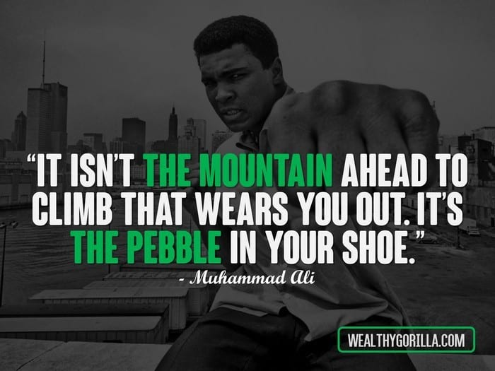 32 Legendary Muhammad Ali Quotes On Being Great | Wealthy ...