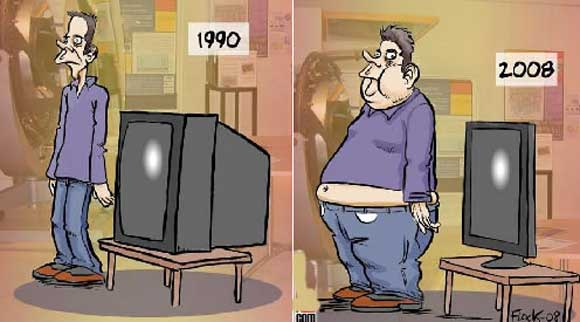 Television Causing Obesity
