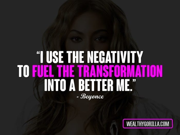 20 Motivational Beyonce Quotes About Life | Wealthy Gorilla