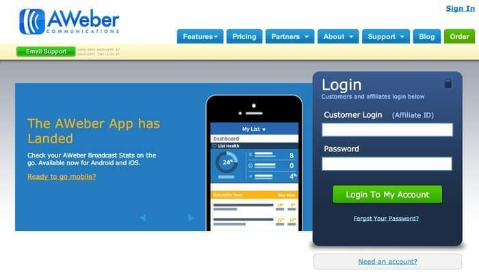 Aweber Review - Top 10 Email Marketing Tools