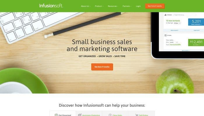 Infusionsoft Review - Top 10 Email Marketing Tools