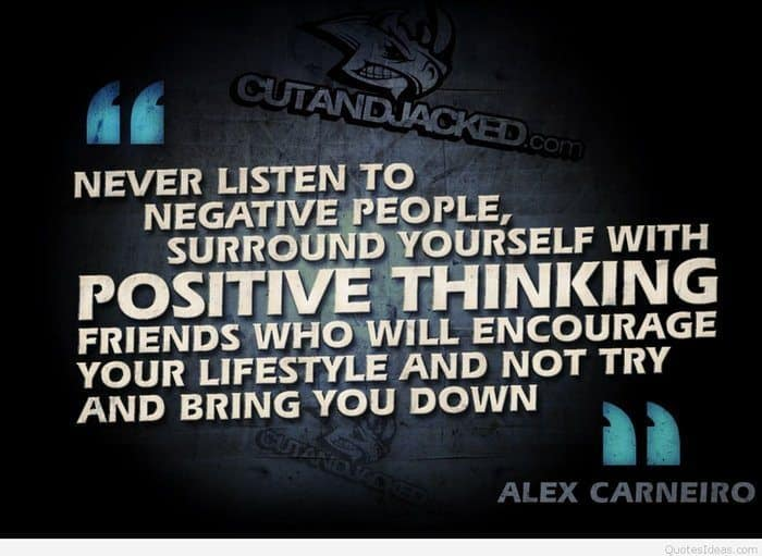 Negative People Bodybuilding Picture Quote