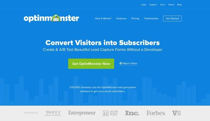 OptinMonster Review - Top 10 Email Marketing Tools