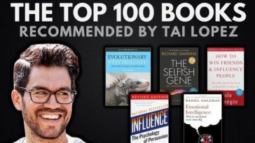 Tai Lopez' Top 100 Book Recommendations