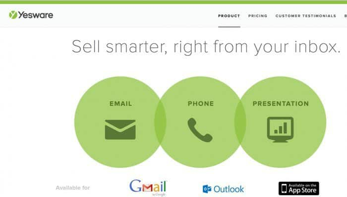 YesWare Review - Top 10 Email Marketing Tools