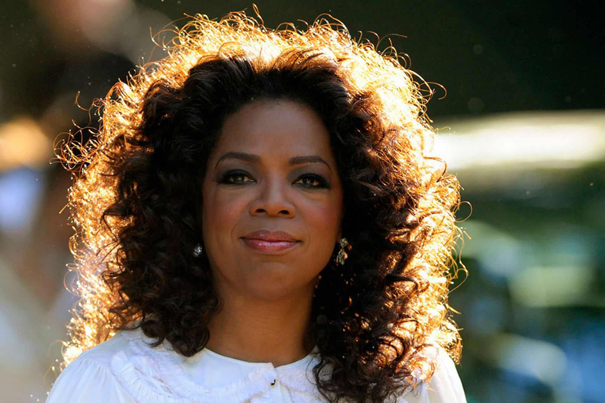 Surprising Past Jobs - Oprah Winfrey