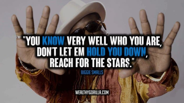 60 Best Biggie Smalls Quotes And Sayings Wealthy Gorilla Interesting Biggie Quotes