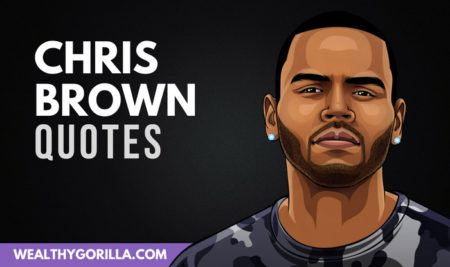 Chris Brown Quotes Enchanting 48 Inspirational Chris Brown Quotes Wealthy Gorilla