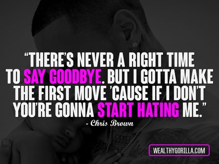 40 Inspirational Chris Brown Quotes (2019) | Wealthy Gorilla