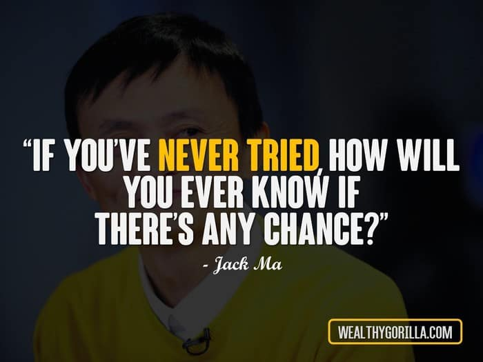 wise jack ma quotes for entrepreneurs wealthy gorilla