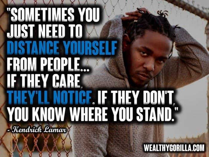 53 Deep & Inspiring Kendrick Lamar Quotes (2019) | Wealthy Gorilla